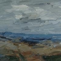 An der Ostsee II, 30 x 30 cm