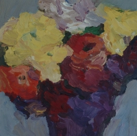 Frühling Goldlack, 2015, 30 x 30 cm