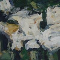 Sommer 2015, Rosen III, 30 x 30 cm