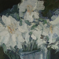 Christrosen, 30 x 30 cm