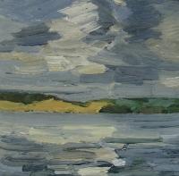Blick auf Steinerholz, 30 x 30 cm