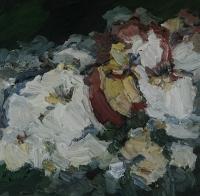 Rosen im Sommer, 30 x 30 cm