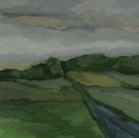 Im Mittelbachtal, Traisa, 30x30 cm