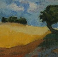 Skizze 5,o.T., Pastell, 20 x 20 cm