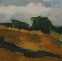 Skizze 6,o.T., Pastell, 20 x 20 cm