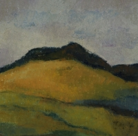 Skizze 9,o.T., Pastell, 20 x 20 cm