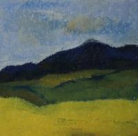 Skizze 10,o.T., Pastell, 20 x 20 cm