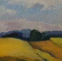 Skizze 11,o.T., Pastell, 20 x 20 cm