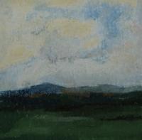 Skizze 13,o.T., Pastell, 20 x 20 cm