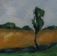 Skizze 15,o.T., Pastell, 20 x 20 cm