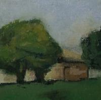 Skizze 18,o.T., Pastell, 20 x 20 cm