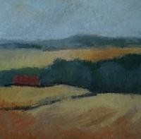 Skizze 19,o.T., Pastell, 20 x 20 cm