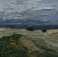 Salzwiesen, 30 x 30 cm